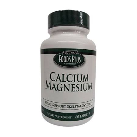 Windmill Vitamins Calcium Magnesium Mineral Tablets by Food Plus, 60 EA