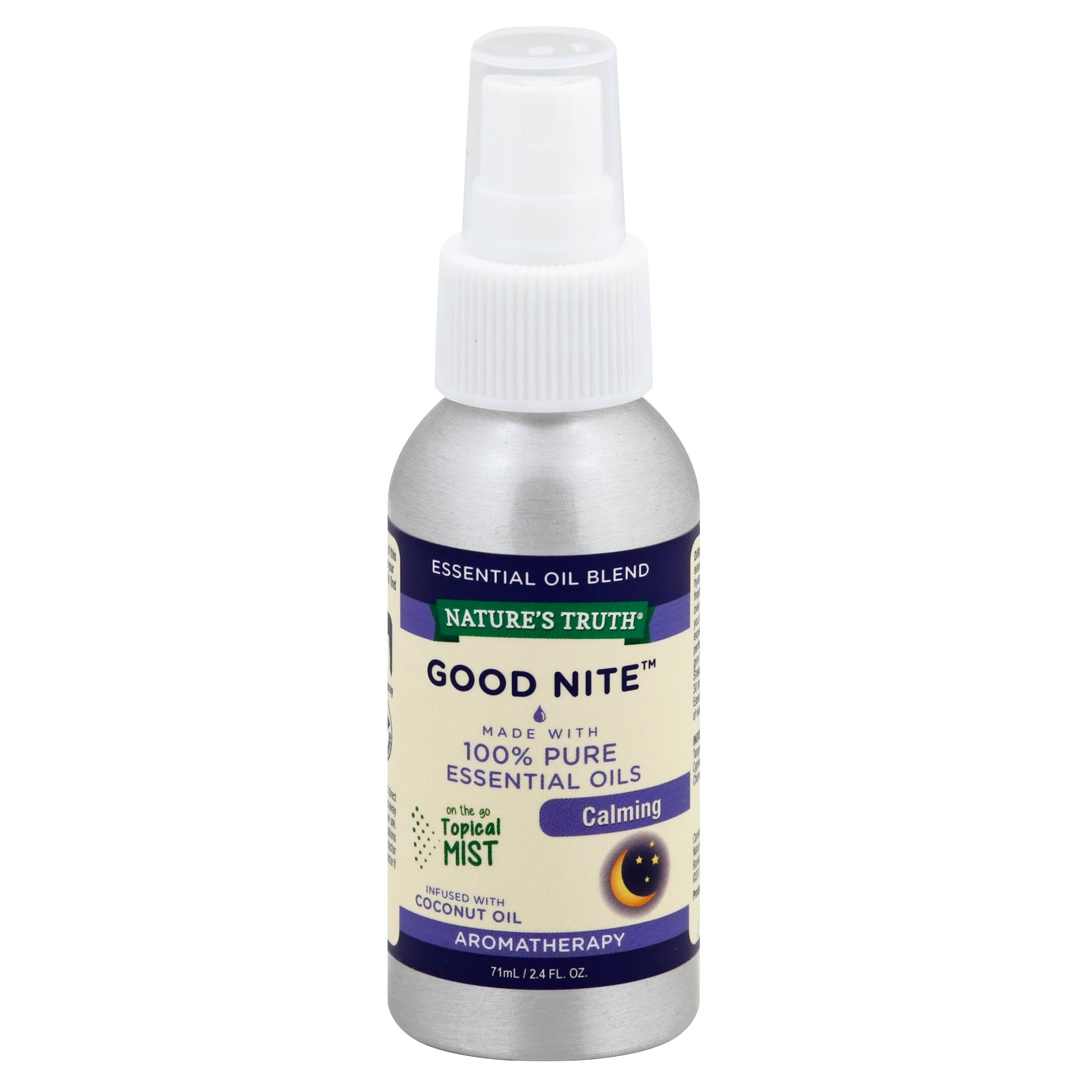 Nature's Truth Calming Goodnite Mist Spray - 2.4oz