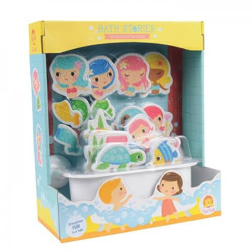 Schylling Puzzles - Mermaid Bath Stories Toy Set