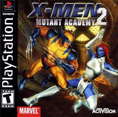 X - Men: Mutant Academy 2 - Play Station 1