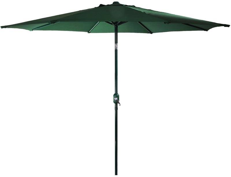 Seasonal Trends 60035 Market Crank Umbrella 55.1 in L x 5-1/21 in W x 5-1/21 in H Green