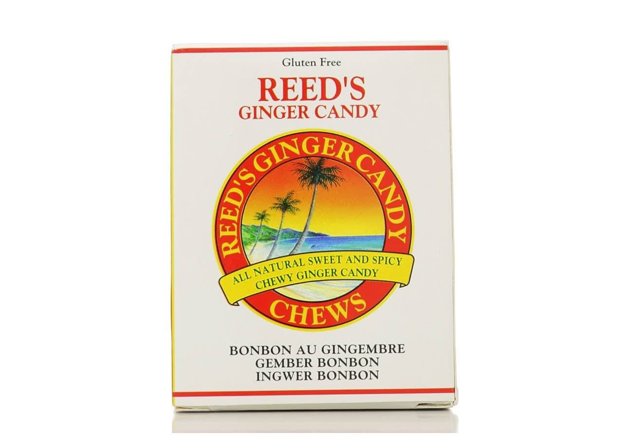 Reed's Ginger Candy Chews - 2 oz box