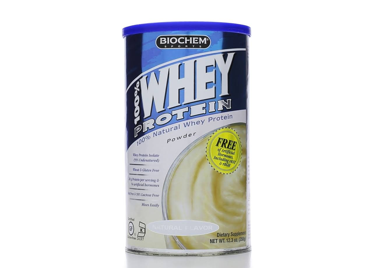 Biochem 100% Whey Protein Powder - Natural