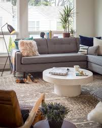 Brown Couch Room Designs by 12 Living Room Ideas For A Grey Sectional Hgtv U0027s Decorating