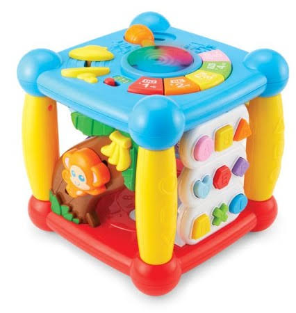 Kidoozie Lights 'N Sounds Activity Cube
