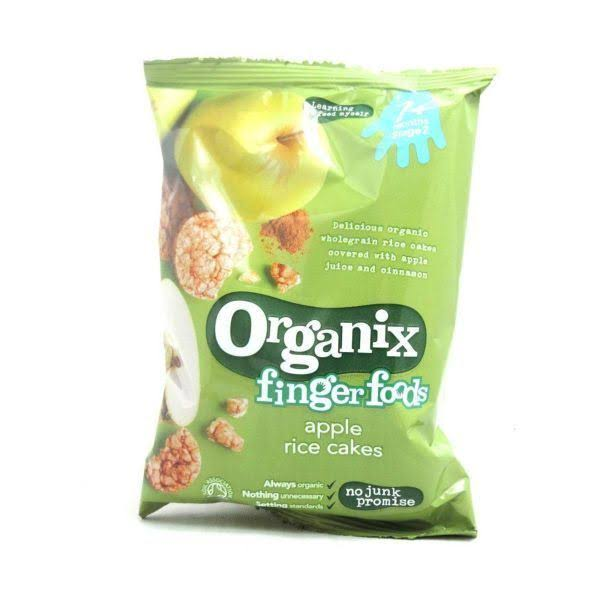 Organix Apple Rice Cake - 50g