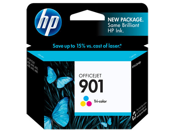 HP 901 Ink Cartridge - Tri Color