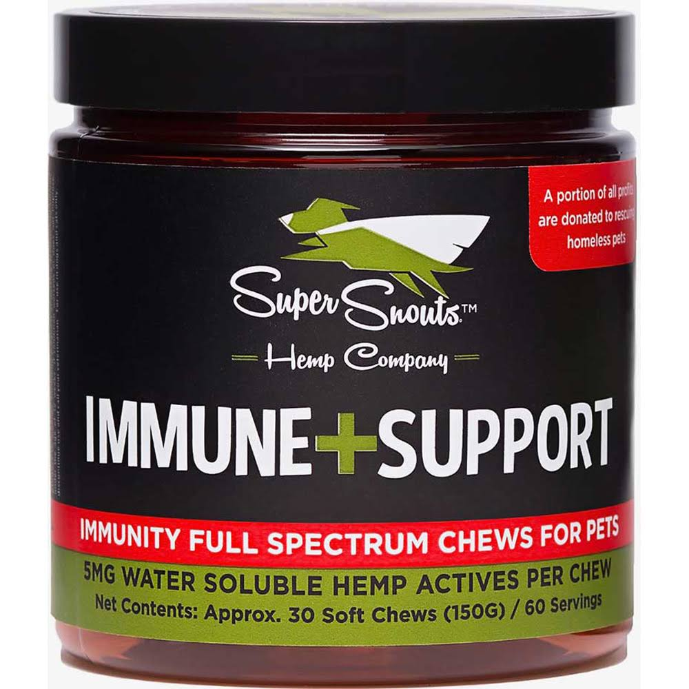 Super Snouts Immune Functional 5mg Hemp Chews