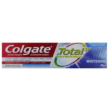 Colgate Total 6.3oz Paste Whitening Wholesale, Cheap, Discount, Bulk