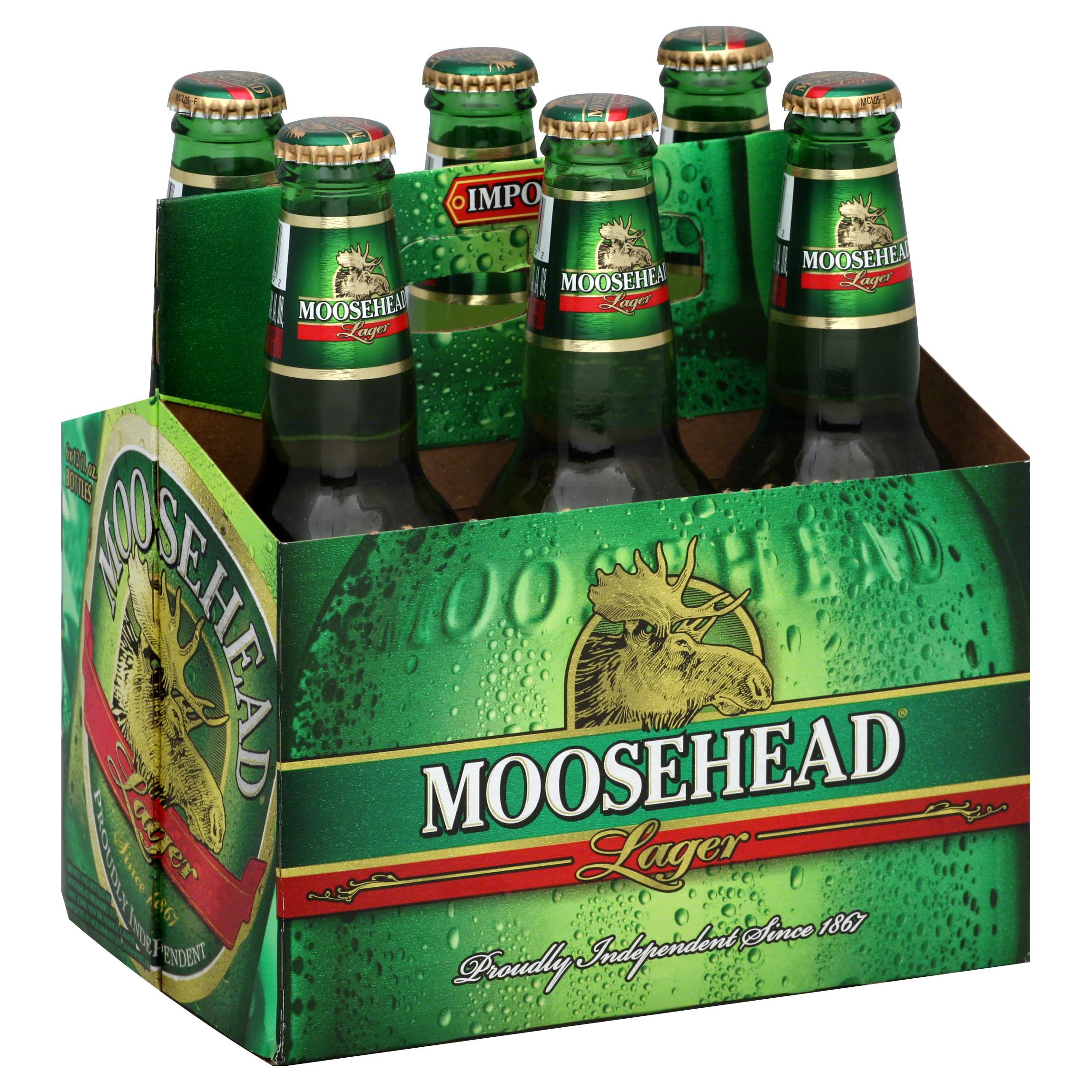 Moosehead Beer Lager - 6 Pack