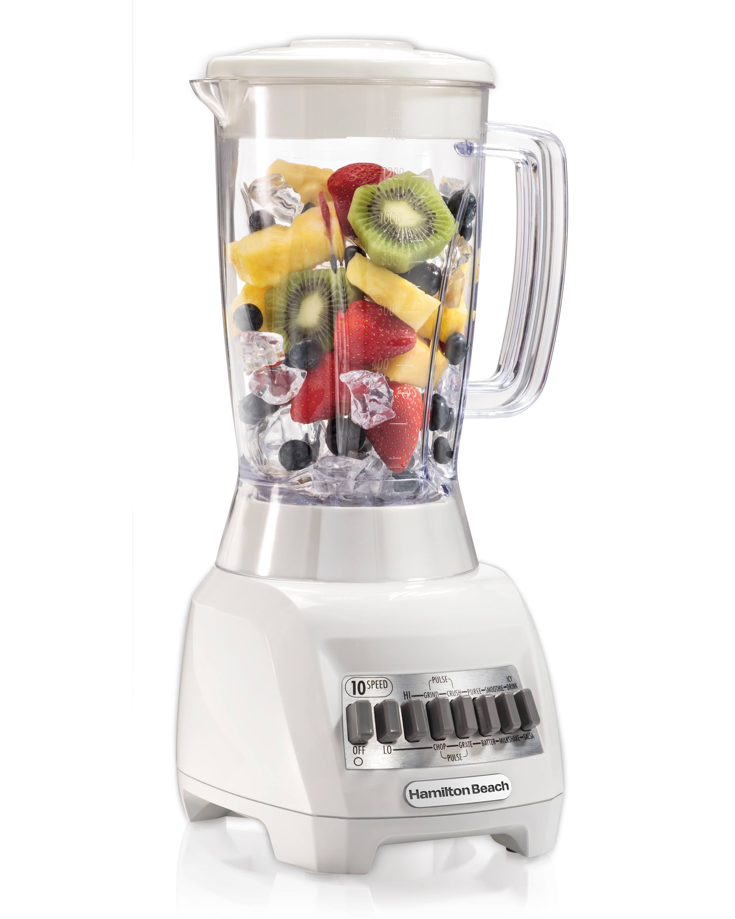 Hamilton Beach 50126 Blender - 10 speed, White