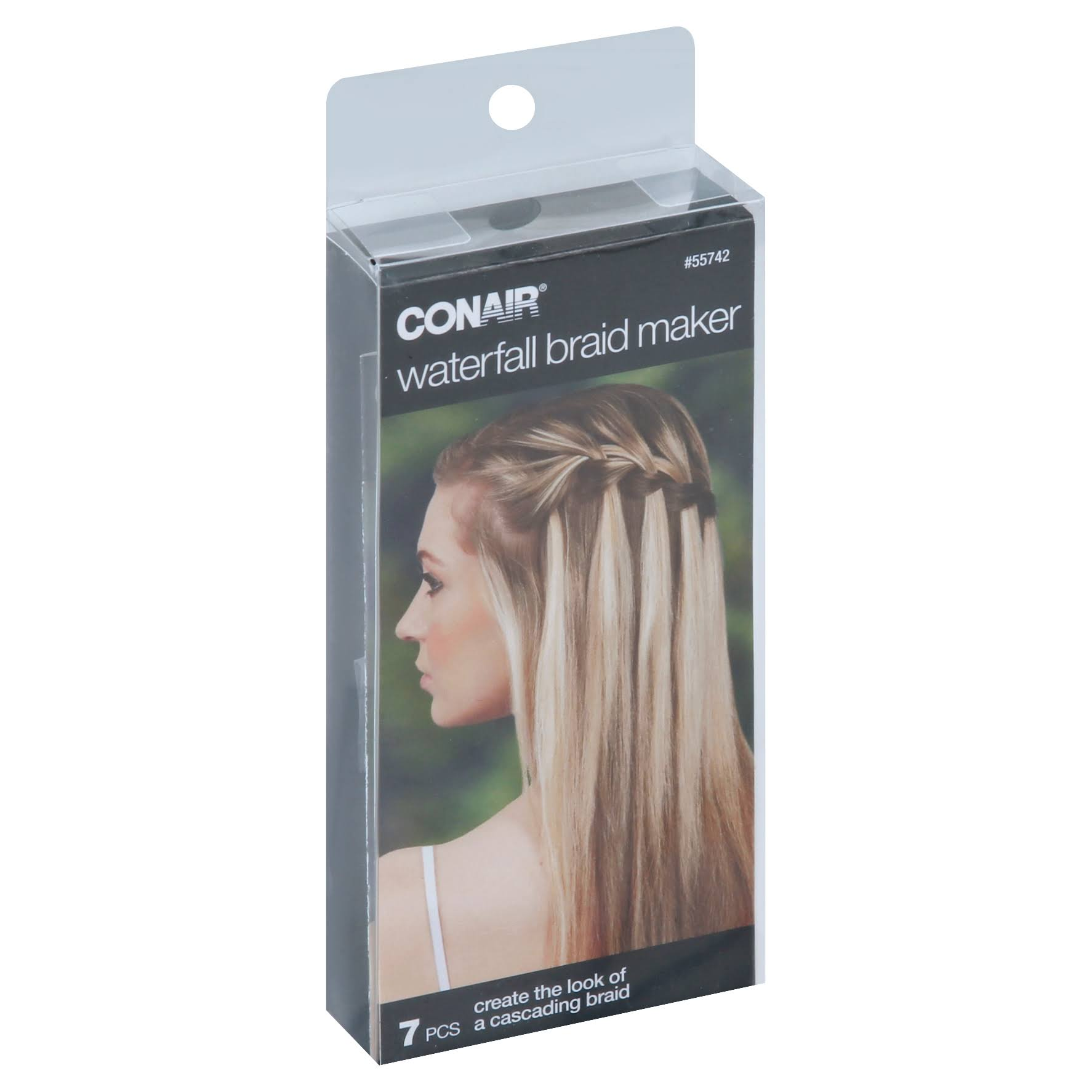 Conair Waterfall Braid Maker - 7pcs