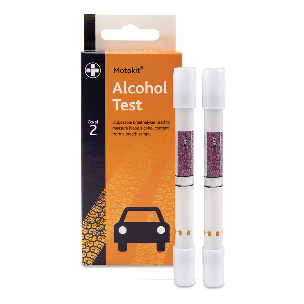 Reliance Medical Motokit Single Use Alcohol Test (package 2 each)