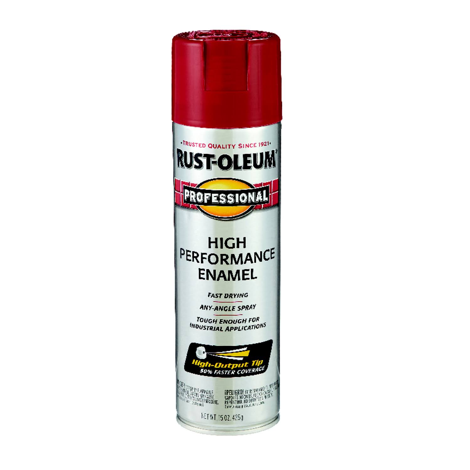 Rust-Oleum 7565838 Professional High Performance Enamel Spray Paint - Regal Red