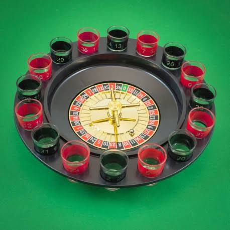 Solid Drinking Shot Roulette