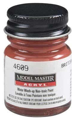 Testors Model Master Acryl Paint - British Crimson