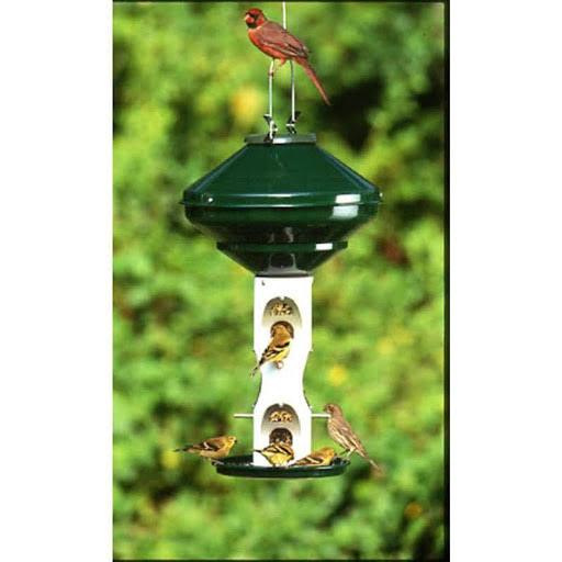 Vari-crafts Mixed Seed Bird Feeder with Cage