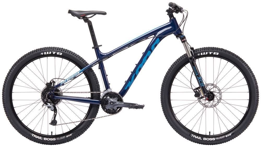 Kona Fire Mountain Bike - Midnight Blue