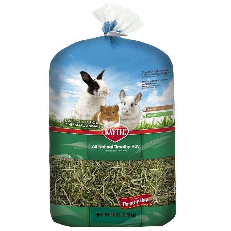 Kaytee Timothy Hay Rabbit Food - 96oz