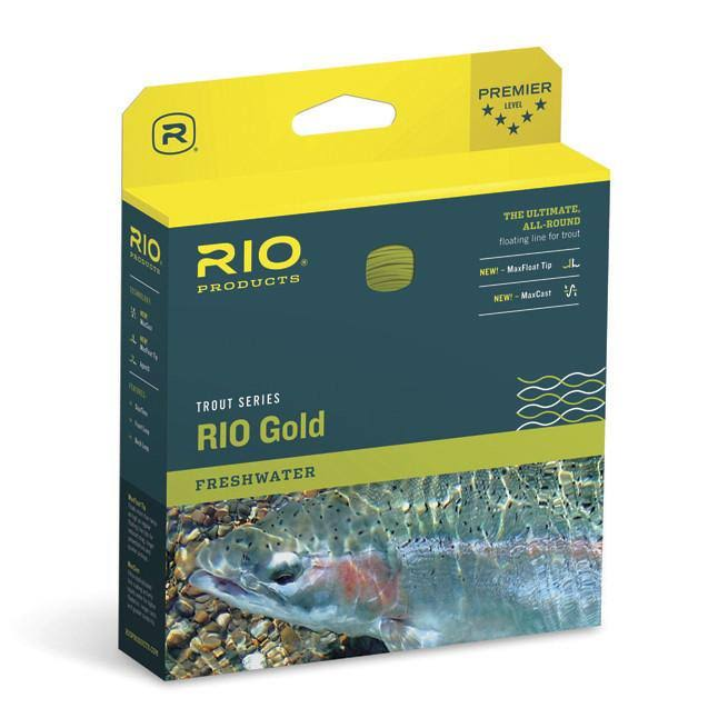 Rio Products Rio Gold Fly Line - Moss and Gold, Wf5f