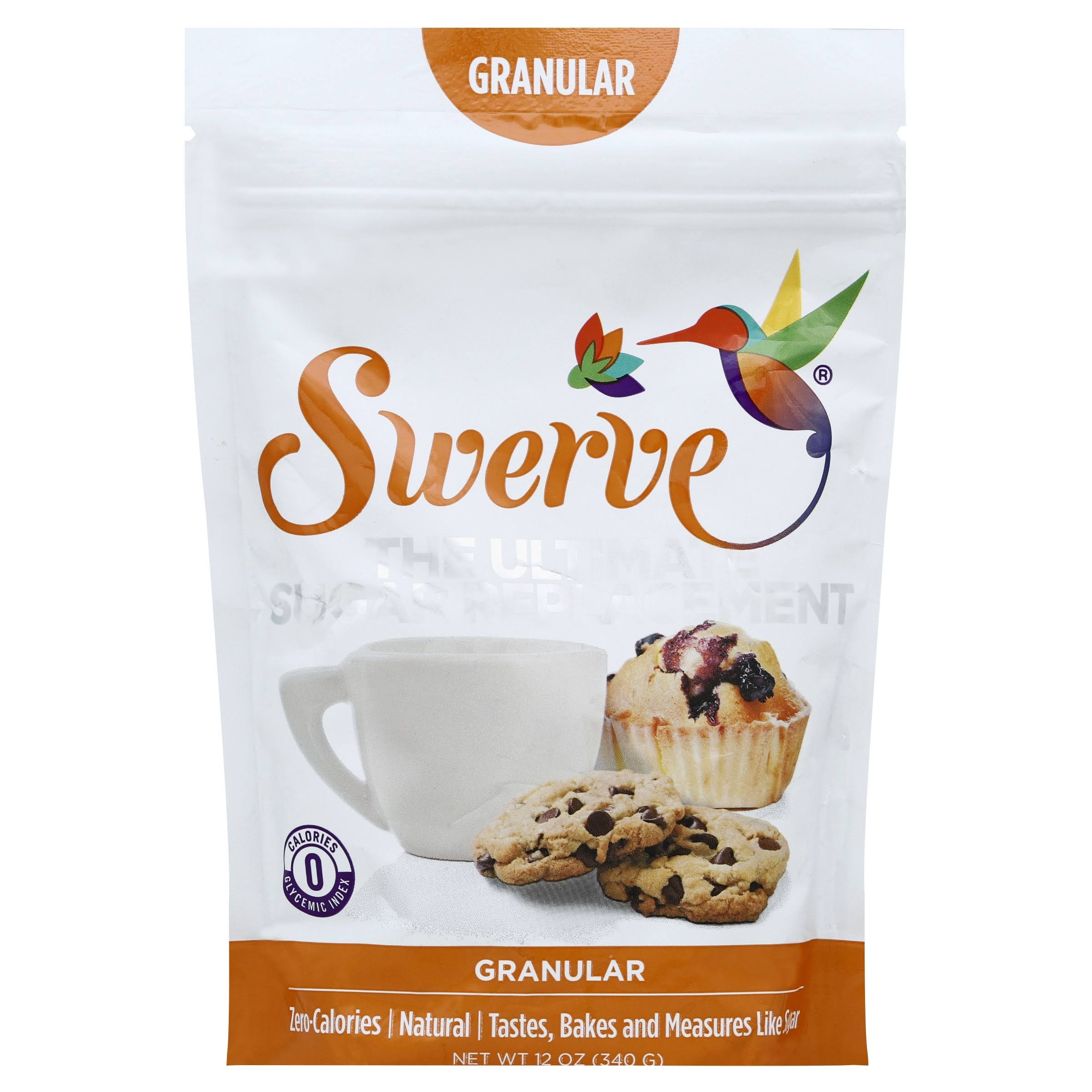 Swerve The Ultimate Sugar Replacement - Granular, 12oz