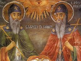 братья Кирилл и Мефодий