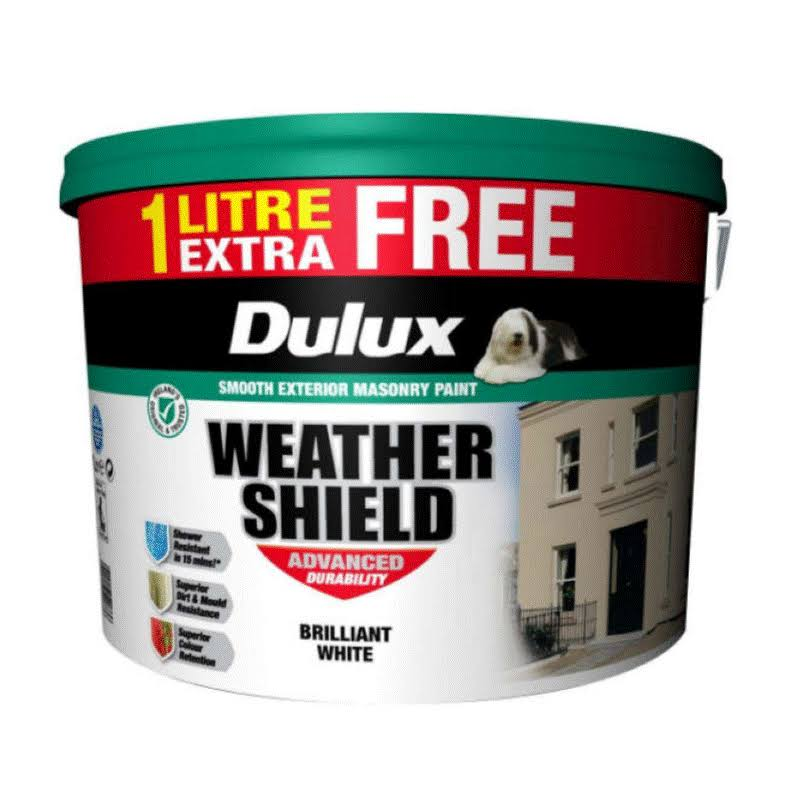Dulux Weathershield Brilliant White Paint