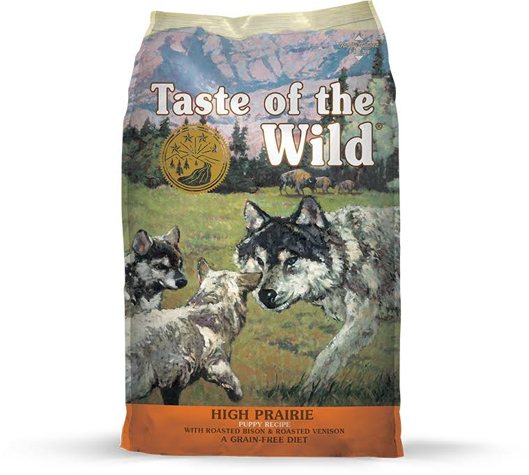 Taste of The Wild High Prairie Puppy Food 28 lbs.