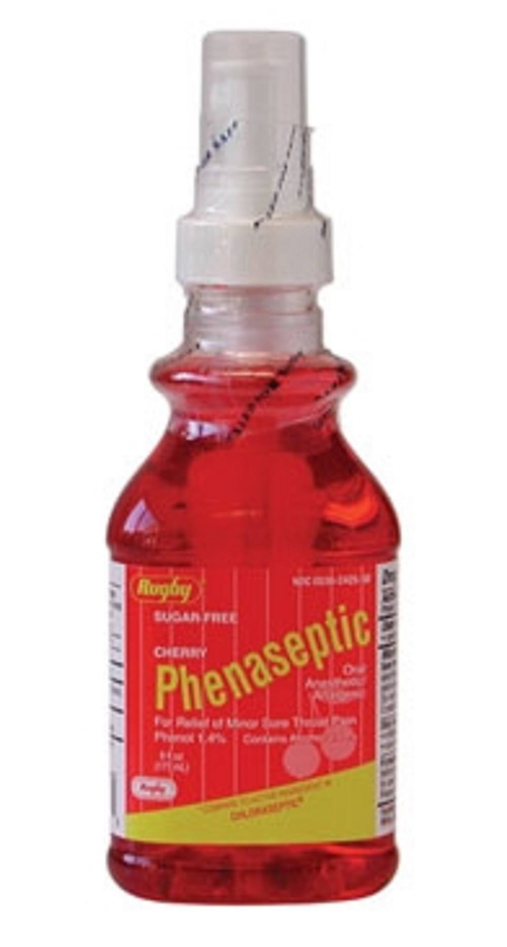 Rugby Phenaseptic Phenol-1 Red Throat Spray - 177ml