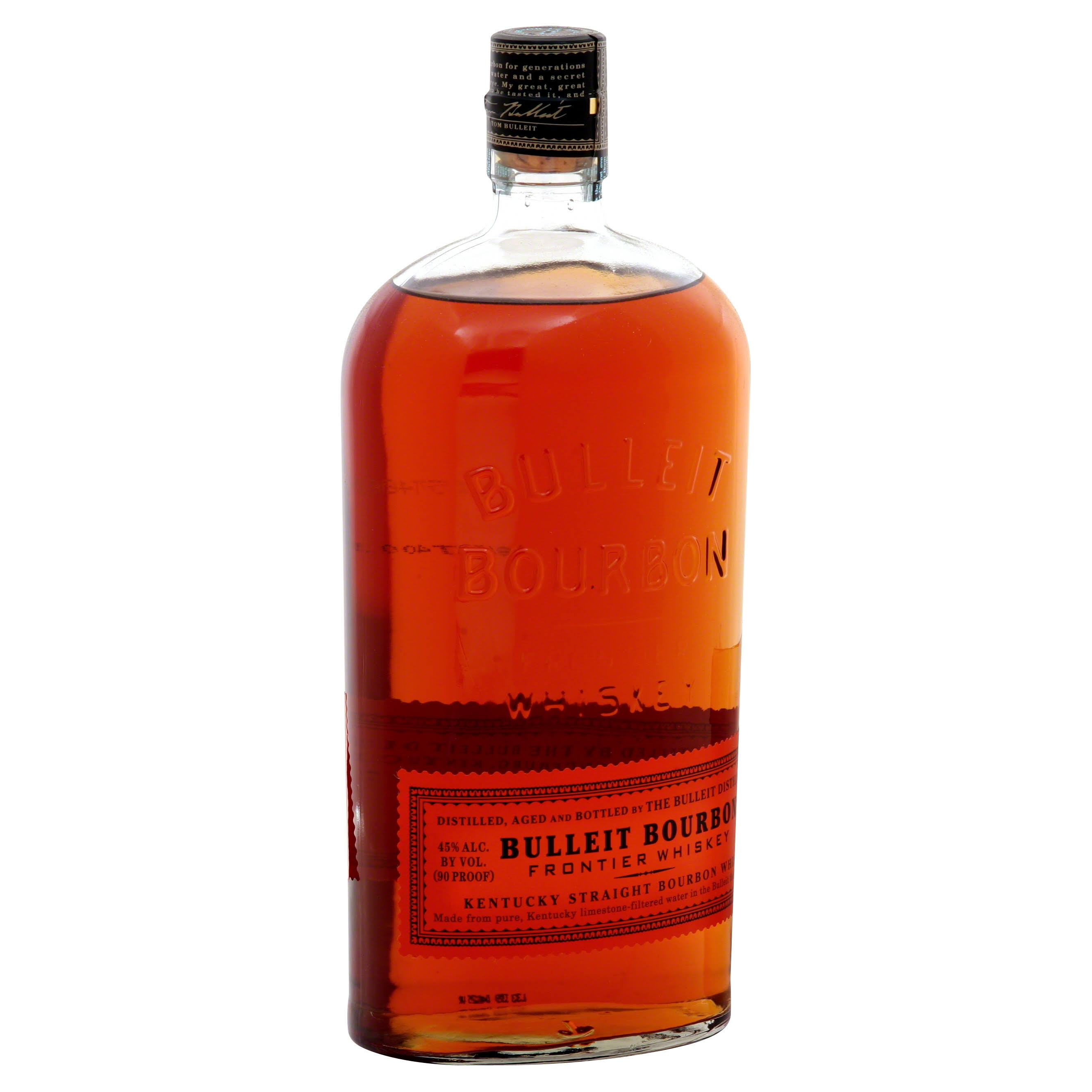 Bulleit Bourbon Frontier Whiskey - 1L