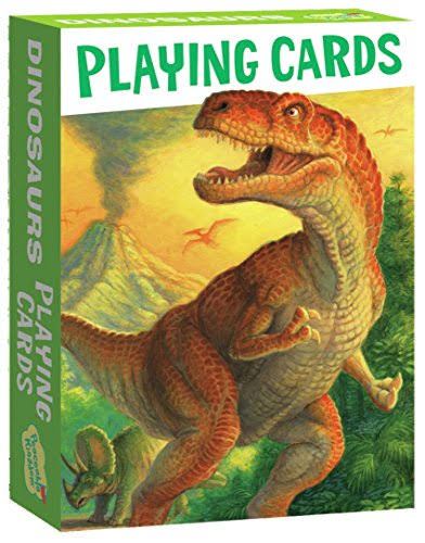 Peaceable Kingdom | Dinosaurs Playing Cards