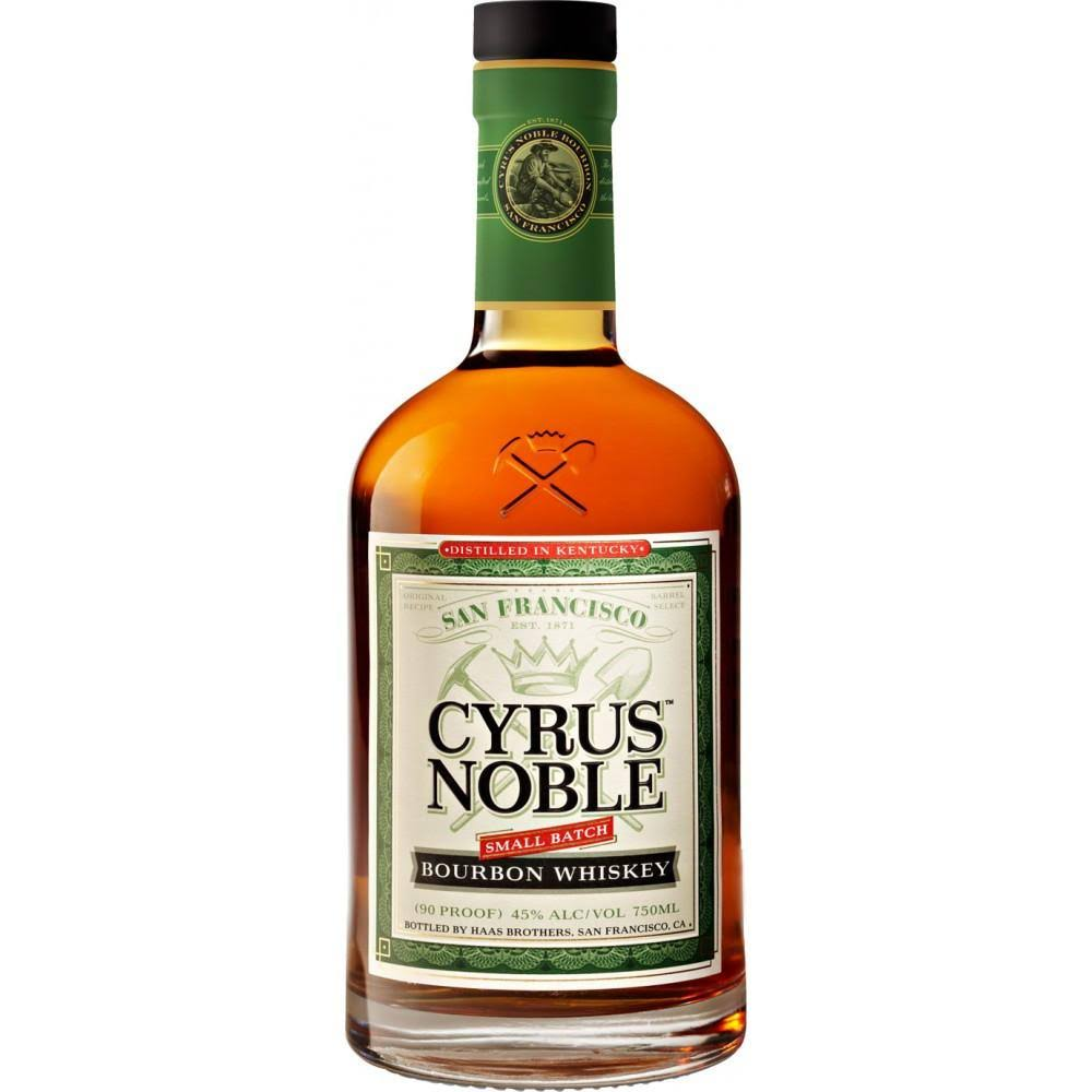 Cyrus Noble Small Batch Bourbon Whiskey - Kentucky, USA