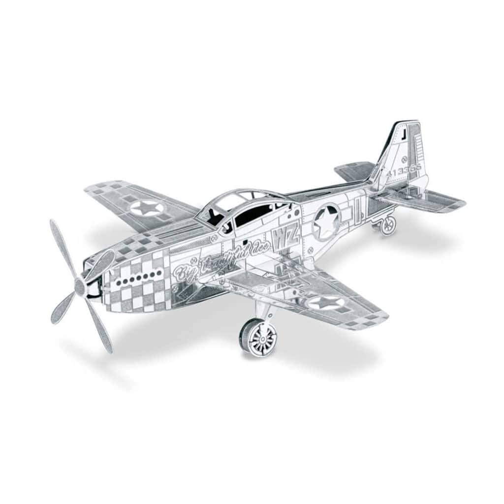 Metal Earth 3D Metal Model Kit - P-51 Mustang