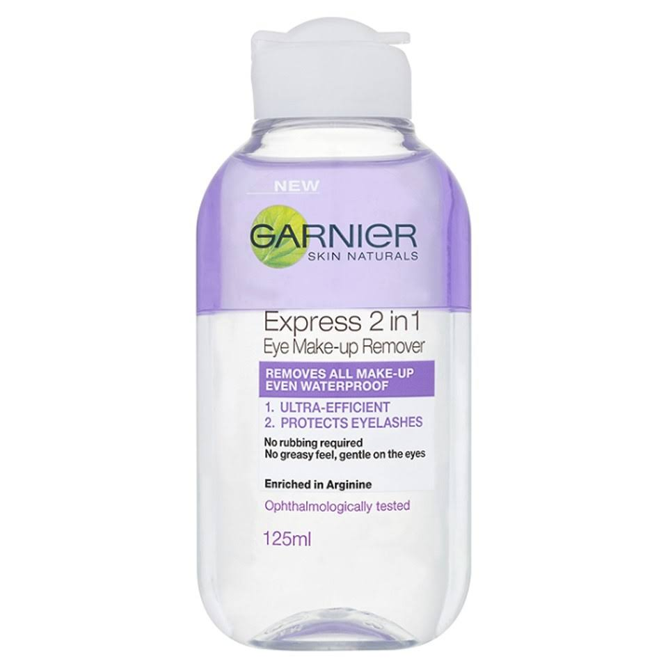 Garnier Skin Naturals 2 in 1 Eye Make up Remover - 125ml