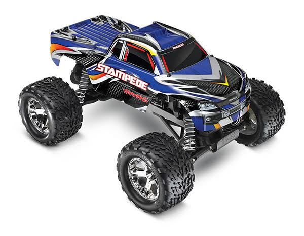 Traxxas Stampede Monster Truck Toy - Blue