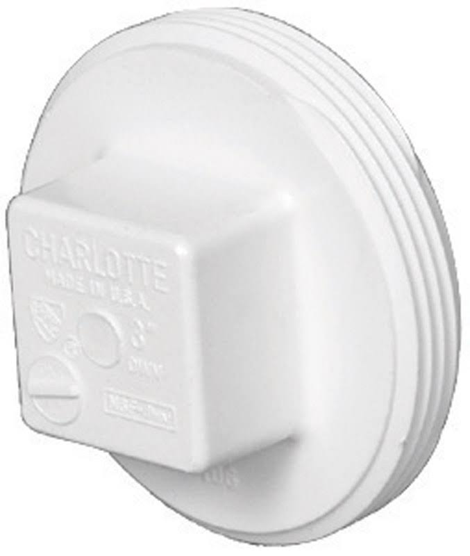 Charlotte Pipe PVC Cleanout Plug Fitting - 6""