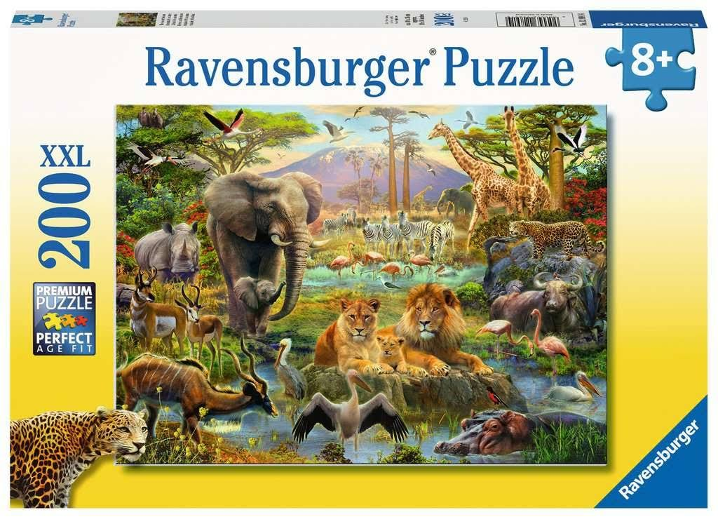 Ravensburger 12891 Animals of The Savanna XXL 200pc Jigsaw Puzzle