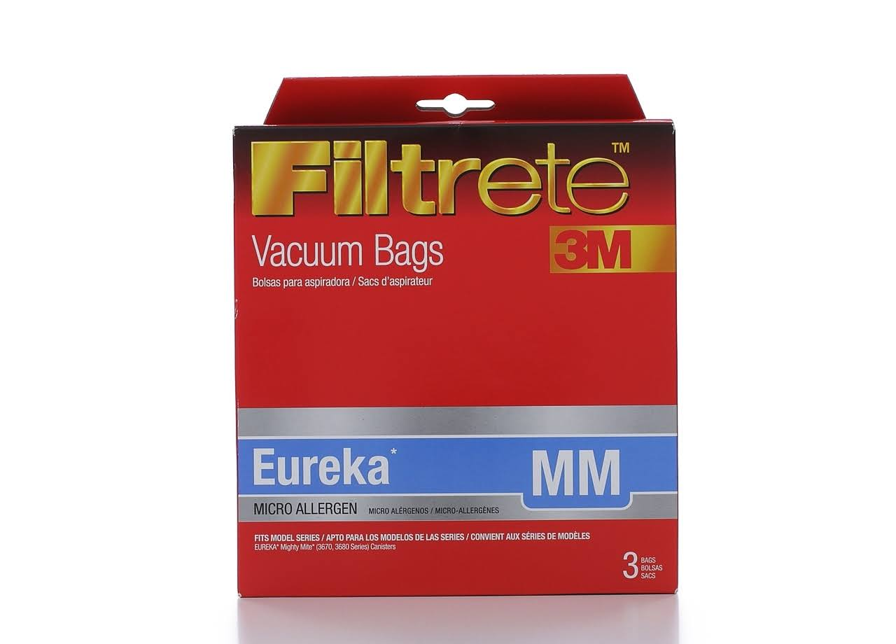 Filtrete Eureka MM Micro Allergen Vacuum Bag - 3 Pack