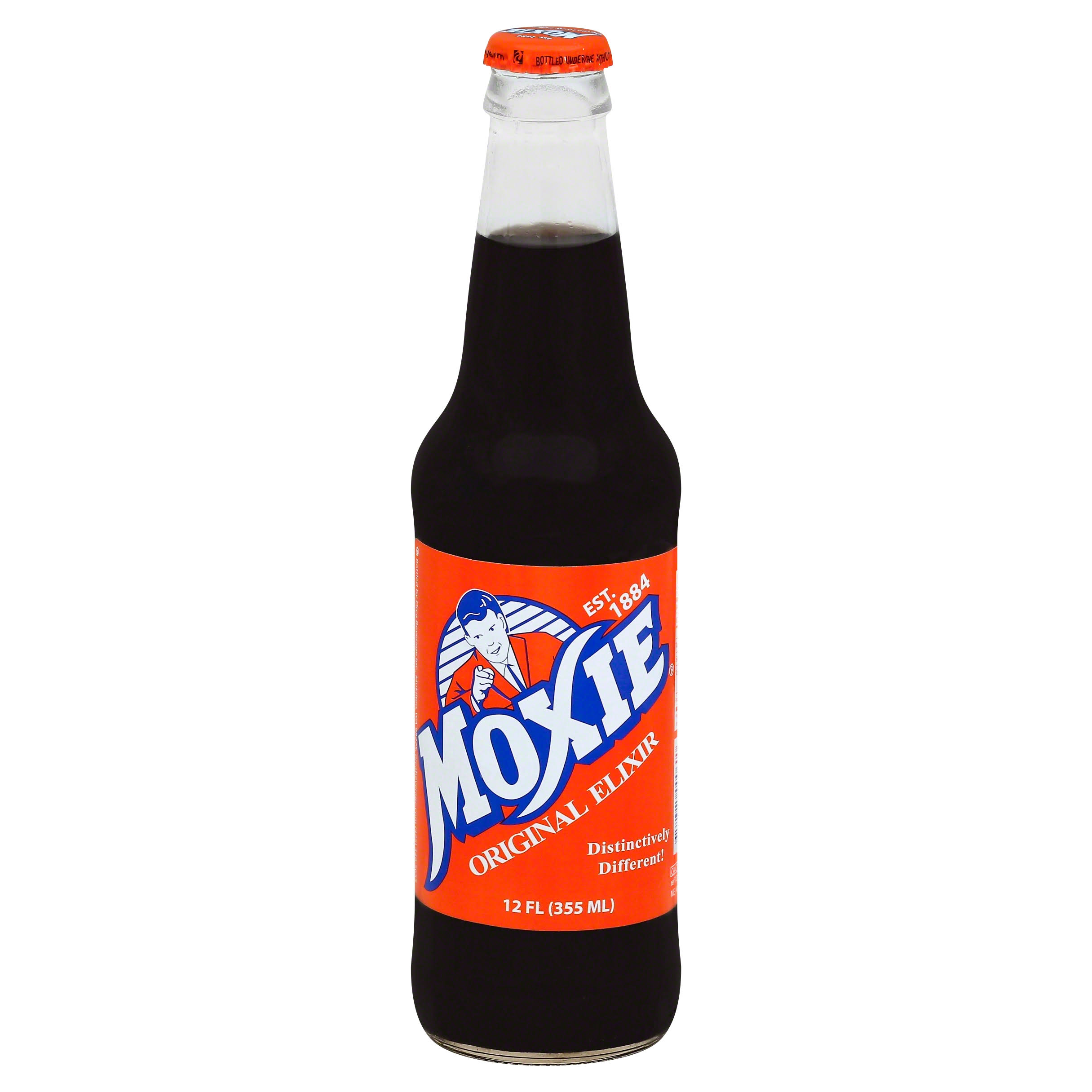 Moxie Original Elixir Soda - 12 fl oz bottle