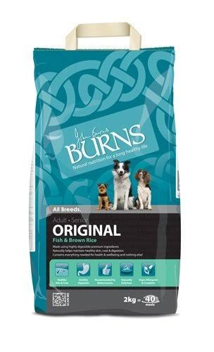 Burns Original Fish & Brown Rice Adult Dog Food - 2kg