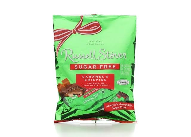 Russell Stover Sugar Free Chocolate Caramel & Crispies