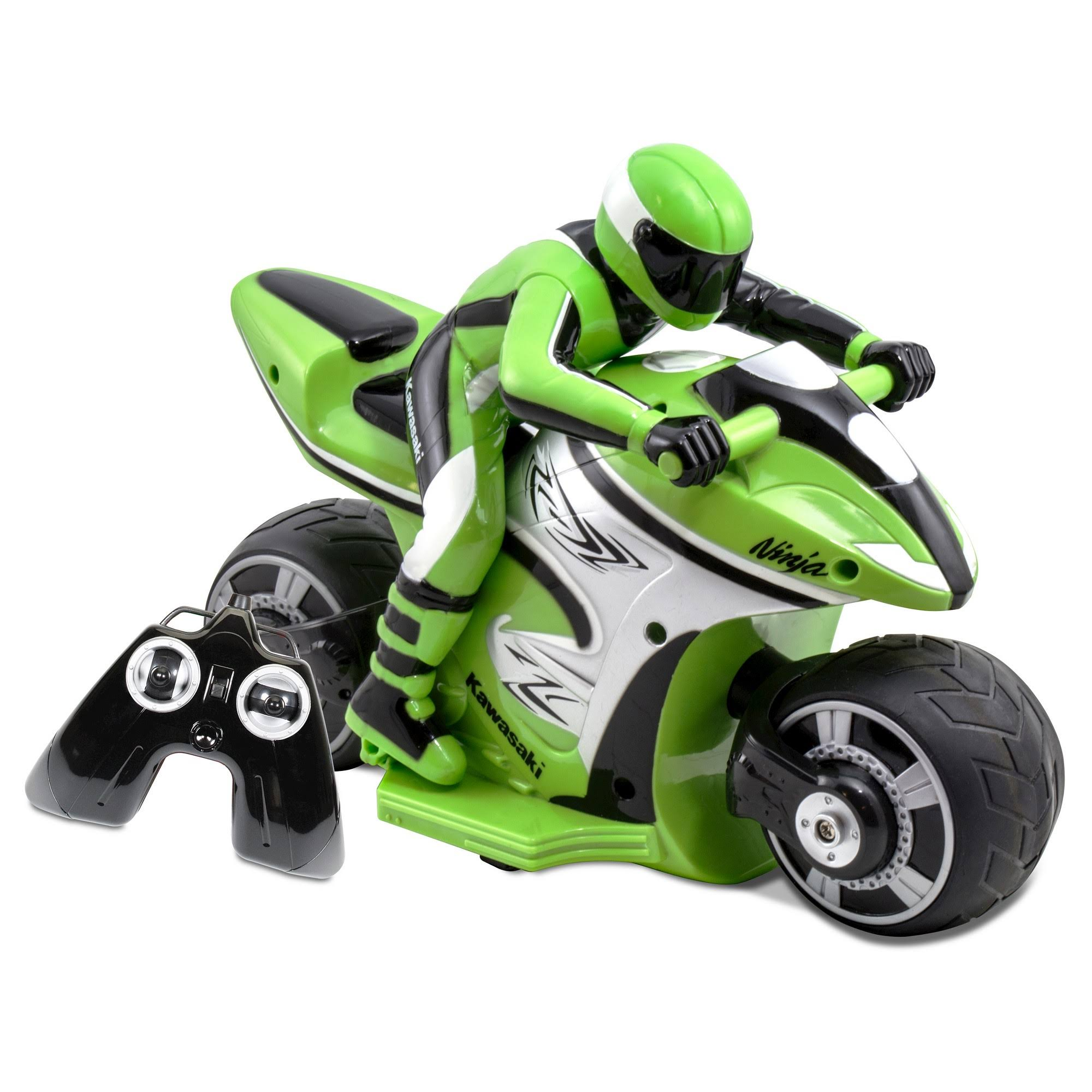 Kid Galaxy Rc Kawasaki Ninja Bike - Green