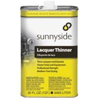 Sunnyside Lacquer Thinner - 1qt