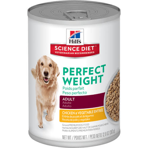 Hill's Science Diet Perfect Weight Dog Food - Adult, Chicken & Vegetable Stew, 12.8oz