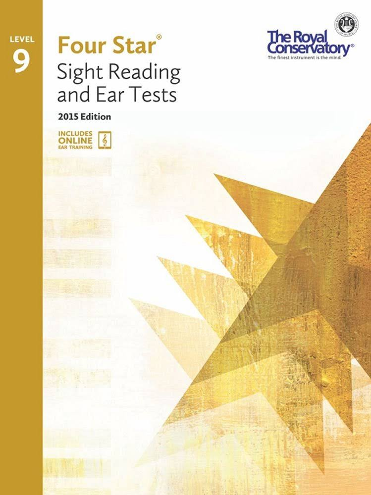 Royal Conservatory Four Star Sight Reading and Ear Tests Level 9 - Frederick Harris Music Co