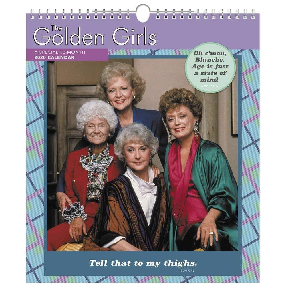 Acco Brands Golden Girls Special Edition 2020 Wall Calendar