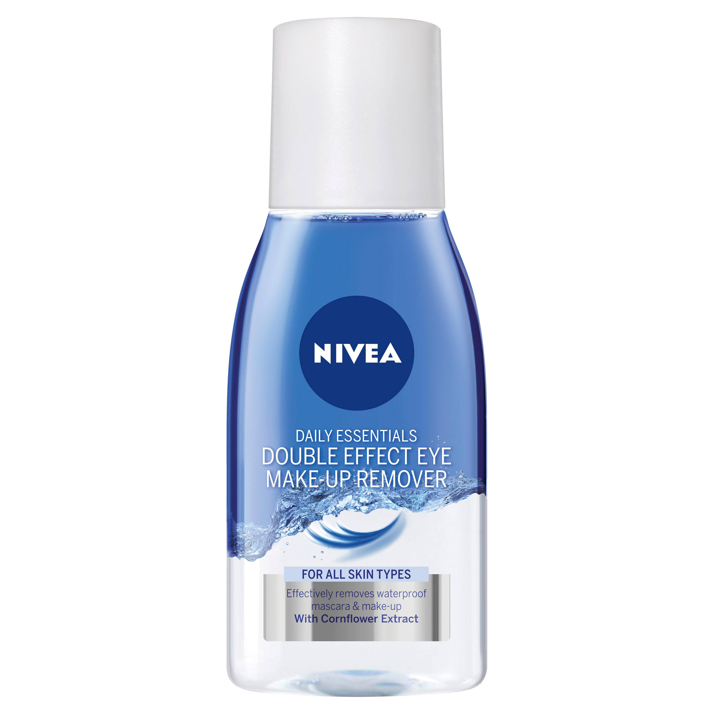 Nivea Daily Essentials Double Effect Eye Make Up Remover - 125ml