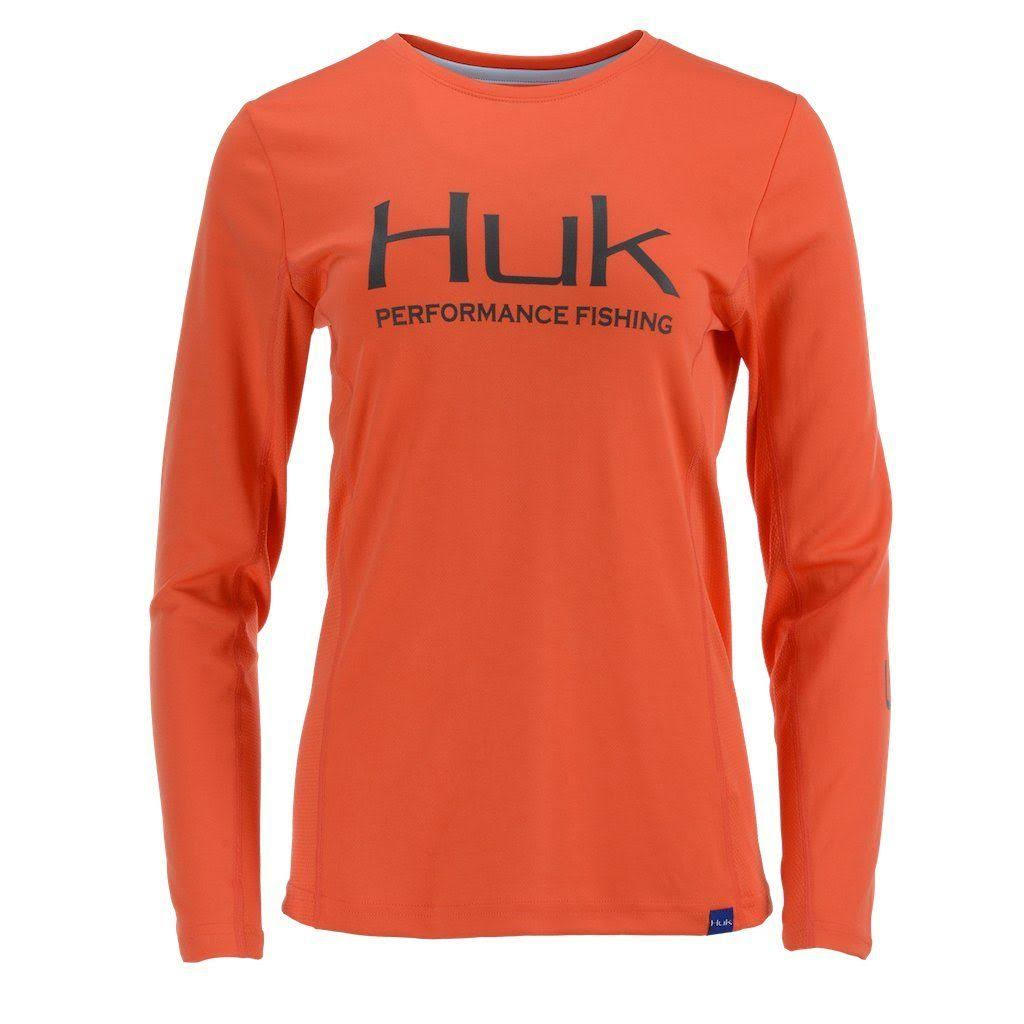 Huk Women's Icon Long Sleeve Shirt