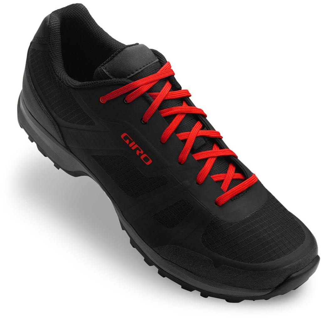 Giro Men's Gauge - Black/Bright Red - 46