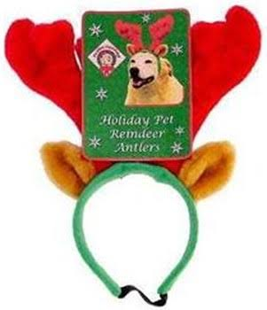 Zanies Holiday Pet Reindeer Antlers (Small)